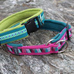 INDIVIDUELLE Halsbänder aus Gurtband