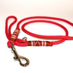 hundehalsband tau und leder