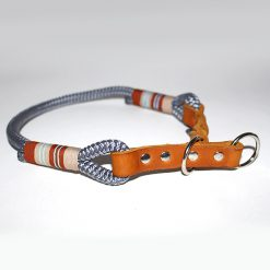 halsband tau leder